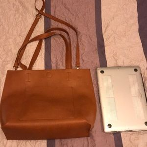 Forever 21 Brown Faux Leather Bag